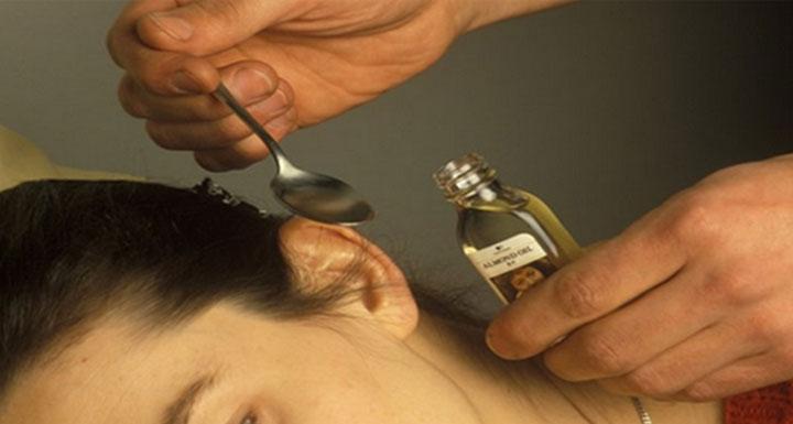 Народная медицина против грибка ушей